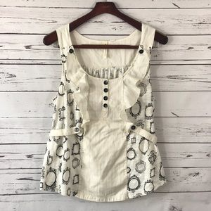 Little Yellow Button / Anthropologie top